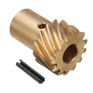 0.491 Inch Shaft Bronze for Hydraulic Roller Cam Machinery Parts - Machinery Parts Other Accessories - 1 x Bronze Gear, 1 x roll pin by Unknown