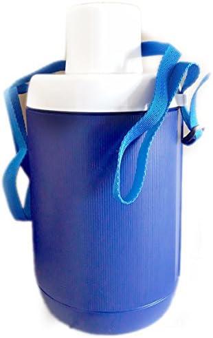 Garrafa térmica para agua Spring Plastime, de color azul o verde, para camping, deportes, tiempo libre, playa, vacaciones. Fabricada en Italia: Amazon.es: Hogar