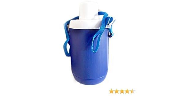 Garrafa térmica para agua Spring Plastime, de color azul o verde ...