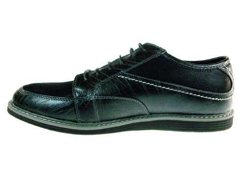 Black Lace Cobbler Toe Round Up Oxford Shoes Dress Mens w8q6a6