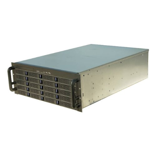 NORCO 4U Rack Mount 20 x Hot-Swappable SATA/SAS 6G Drive Bays Server Rack mount RPC-4020 by Norco