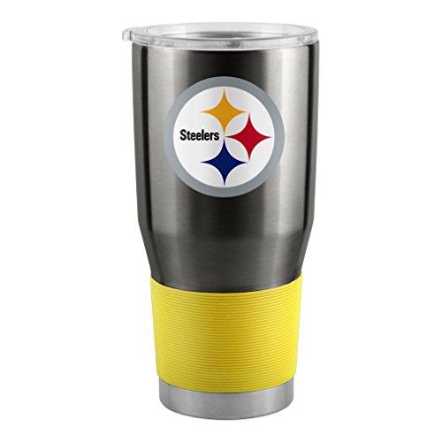 NFL Pittsburgh Steelers Ultra Tumbler, (Pittsburgh Steelers Travel Mug)