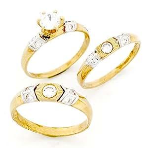 Amazon.com: Jewelry Liquidation 10k Gold His & Hers