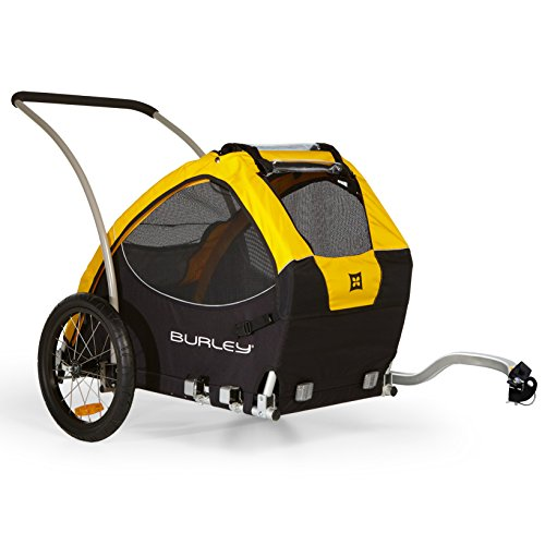 Burley Design Tail Wagon Bike Trailer, Yellow/Black by Burley Design