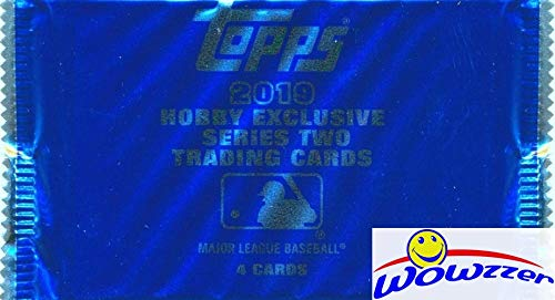 - 2019 Topps Series 2 Baseball HOBBY EXCLUSIVE Factory Sealed SILVER PACK! EXCLUSIVE Chrome Cards in 1984 Design! Look for Autos & Refractors of Top MLB Stars, Rookies & HOF Legends! WOWZZER!
