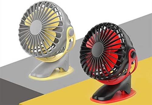 Portable Small Fan Suitable for Home Office Bedroom Clip Type Mini Desktop Desktop Fan Powerful Airflow Silent Operation Portable Fan Mini Personal Fan