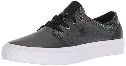 - DC Girls' Trase SE Skate Shoe, Black Multi, 4 M US Big Kid