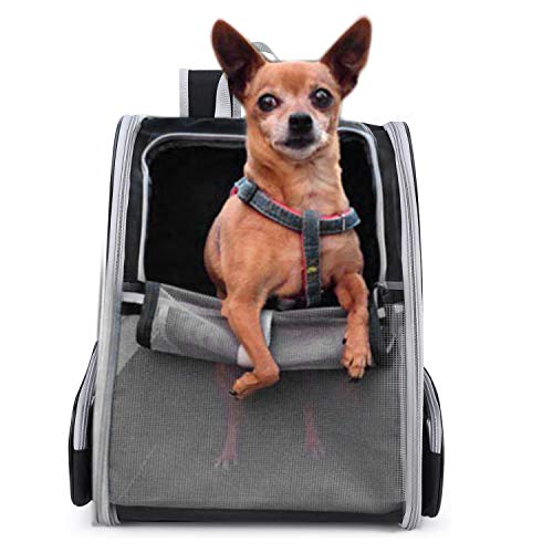 Lollimeow Pet Carrier Backpack for Dogs and