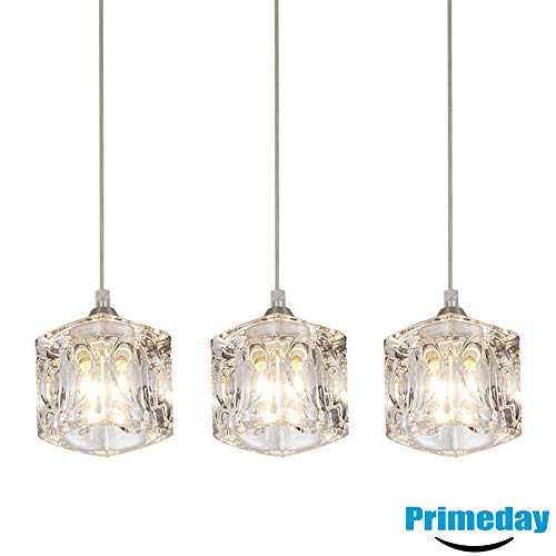 3 Light Crystal Pendant in US - 7