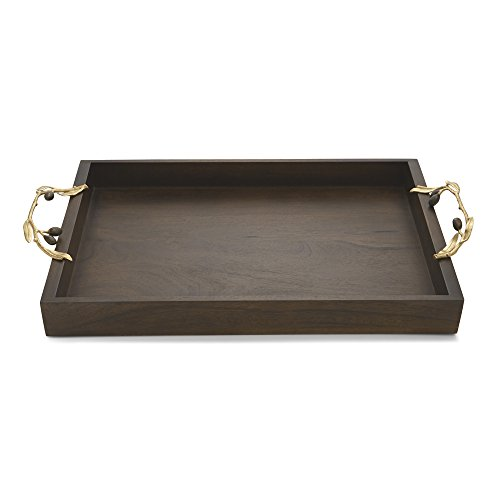 Michael Aram Olive Branch Wood Serving Tray #175077