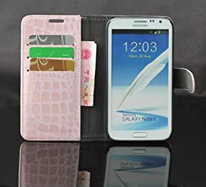 Ezydigital Premium Leather Case with Stand Cover for samsung galaxy note II