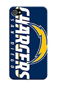 3d Print San Diego Chargers NFL Iphone 4/4s Cases Classic Sport Design (San Diego Chargers1) by supermalls