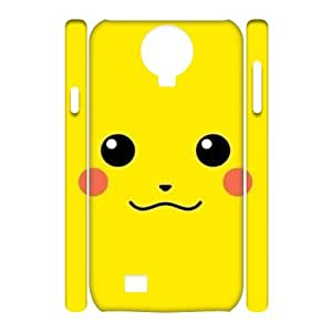 QSWHXN Cell phone Cases Smile Face Hard 3D Case For Samsung Galaxy S4 i9500