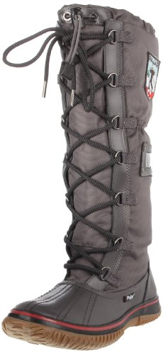 Pajar Womens Grip Boot Charcoal / Charcoal