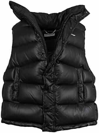 24932358e13a14 Balenciaga Black Down Filled Oversized W/Scarf Puffer Jacket Vest Size 36/0