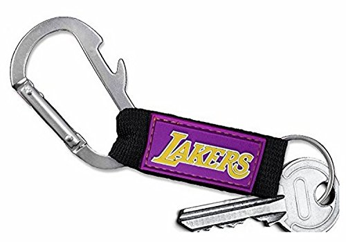 Los Angeles Lakers Logo Carabiner with Bottle Opener and Key Chain (Lakers Costume)