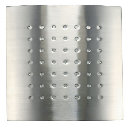 Lite Source LS-1327PS Milo Wall Sconce with Spotted Light Filtering, Polished Steel Collection Light Filtering