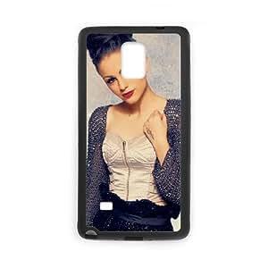 Cher Lloyd funda Samsung Galaxy Note 4 caja funda del teléfono celular del teléfono celular negro cubierta de la caja funda EEECBCAAJ09816
