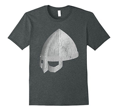 [Mens Viking Dad Costume Helmet Tee Shirt Valhalla Calling Norse Medium Dark Heather] (Dark Helmet Helmet Costumes)