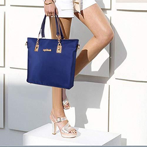 Bolso Mujer Azul Alwaysky Asas Para De Nailon dHxPd0aCqw
