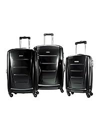 Samsonite Luggage Winfield 2, 3 Piece Roller Set, Black