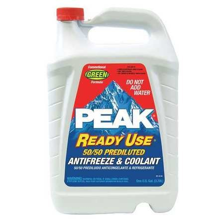 Antifreeze Coolant, 1 gal., 50/50