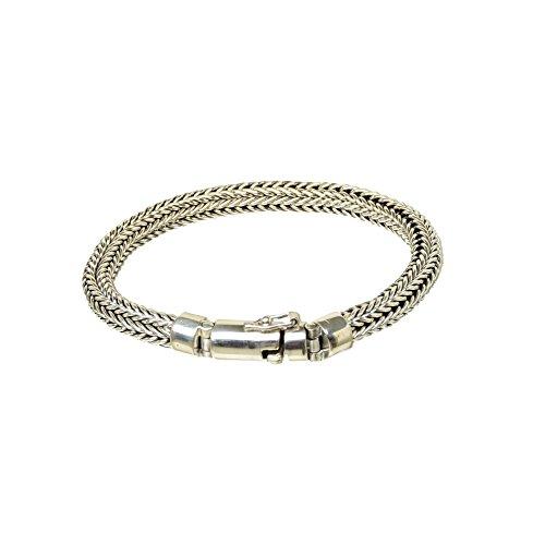 Bouddha to Light Handmade Argent Sterling Biker Bracelet Wire eie 249eur