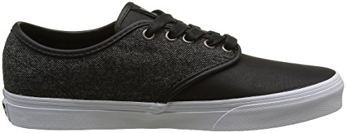 Vans Herren Camden DX Low-Top Schwarz ((tweed) Black/Gray)