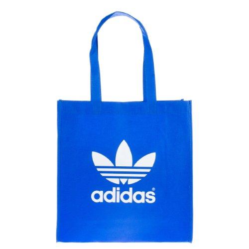 adidas Tasche Adicolor Trefoil Shopper Bag - blau