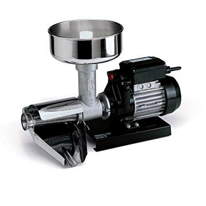 Raw Rutes - No. 3 Electric Tomato Strainer Machine with 2 Gallon Food Grade Plastic Pail