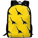 Kids Backpack Seismosaurus Dinosaur Outdoor Girls School Bag Multipurpose Daypacks Backpacks