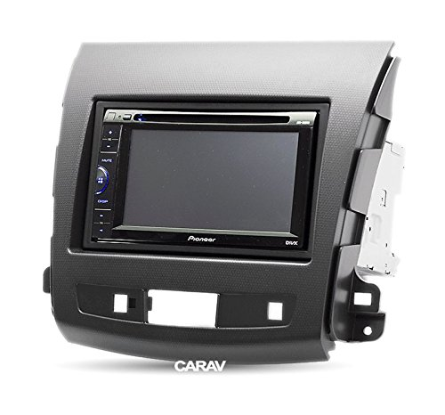 MITSUBISHI Outlander XL 2006-2012 2007-2012 CARAV 08-004 2-DIN car head unit fascia facia installation dash kit for CITROEN C-Crosser 2007-2012 4007 PEUGEOT