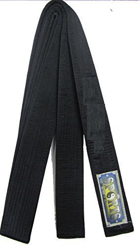 Black Belt -MASTER-Silk/Satin - 320cm SHIHAN MASTER