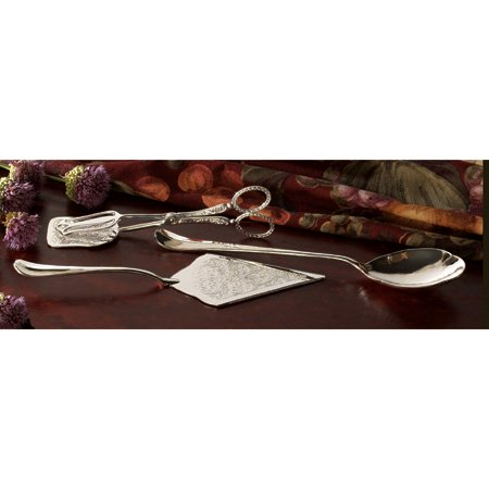 Studio Silversmiths 3 Piece Cake Server, Spoon And Tong ()
