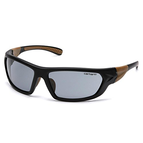 Carhartt Carbondale Safety Sunglasses with Gray Anti-fog - Z87.1 Ansi Sunglasses