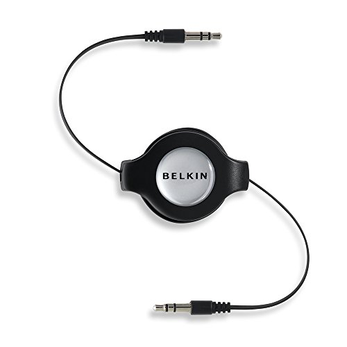 Belkin Retractable Auxiliary Cable for iPod and iPhone