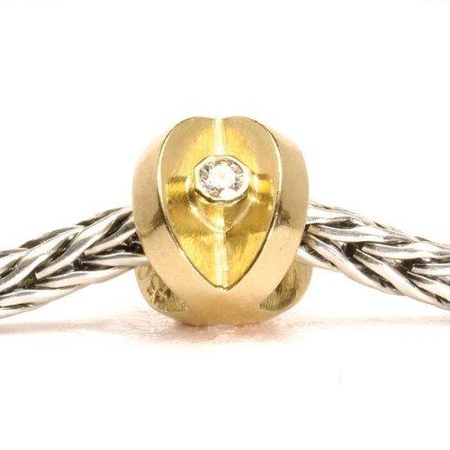 Trollbeads The Kiss With Diamonds TAUBE-00089