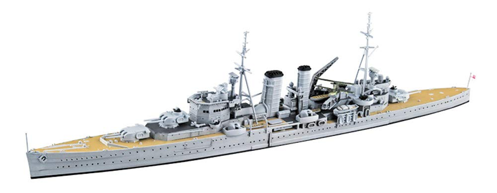 1/700 Waterline No.807 Royal Navy Heavy Cruiser Exeter Plastic Model
