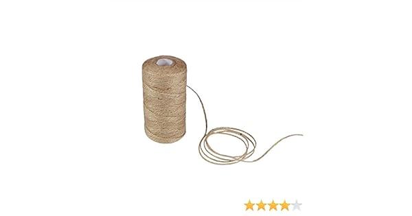 hacoly 100 m cuerda de yute Deko Cordón naturales embalaje cuerda ...