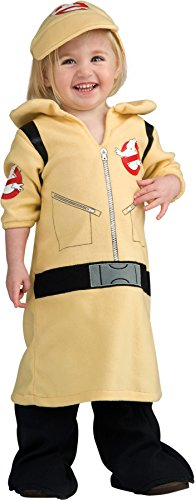 [UHC Girl's Ghostbusters Movie Character Infant Toddler Halloween Costume, 6-12M] (Baby Girl Marvel Costumes)