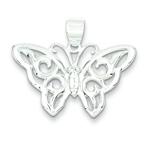 erfly Pendant Charm Insect Jewelry ()