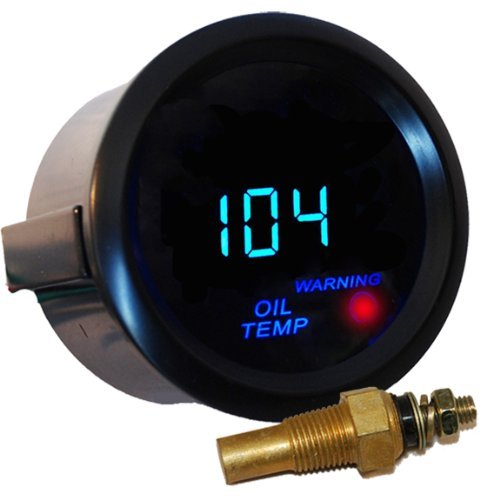 "NEW Car 2"" Digital LED Oil Temperature Gauge"