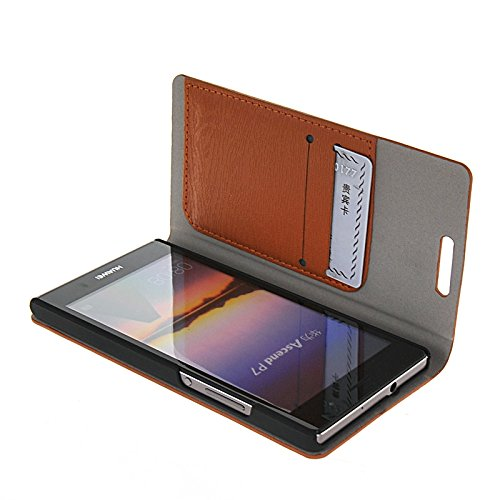 Amazon.com: Pattacer Slim Wallet Card Holder Leather Stand ...