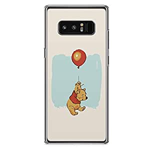 Loud Universe Pooh Bear Balloon Samsung Note 8 Case Case Pooh Cartoon Samsung Note 8 Case Cover with Transparent Edges