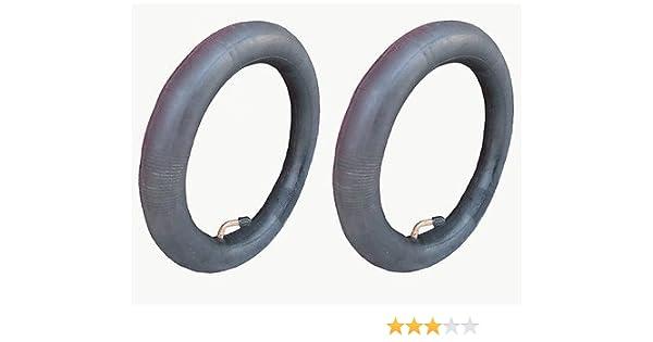 2 cámaras de aire de repuesto para ruedas traseras del carrito Bugaboo Donkey de 31,75 cm con válvula de punta curva: Amazon.es: Bebé