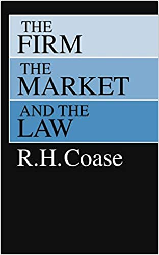 The Firm, the Market, and the Law: Amazon.es: R. H. Coase: Libros en idiomas extranjeros