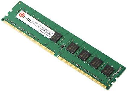 2x 4 GB 288 PIN DDR4 2133 2133MHz PC4-17000 PC-17000 di memoria DIMM QUMOX 8GB