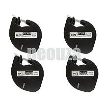 4PK compatible Dymo LetraTag LT 91200 91330 S0721510 WHITE PAPER LABELS Tapes LT100H LT100T