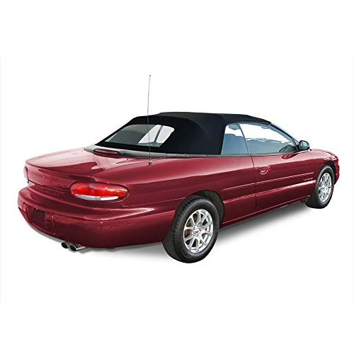 AutoBerry Convertible Soft Top & Heated Glass window Compatible with Chrysler Sebring 1996-2006 - Sebring Auto Convertible Chrysler