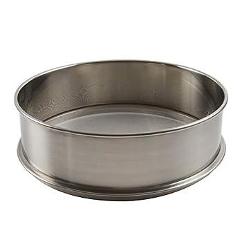 Vollum stainless steel flour sifter